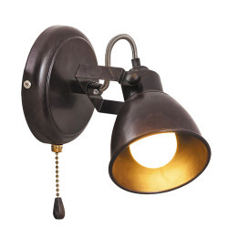 Spot Vintage Vivienne antique brown, 5962, Rabalux