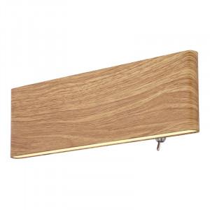 Aplica LED Siefried, putere 8W, lumina calda(3000 K), imitatie lemn, 41751W-8 Globo