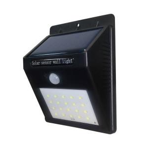 Aplica solara 0.75W cu senzor de miscare, protectie IP54, Optonica