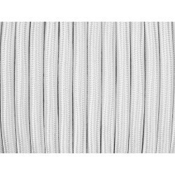 Cablu Textil Alb 2x0,75