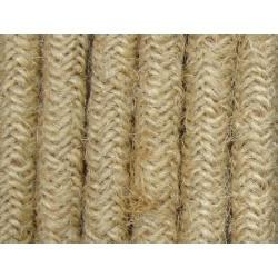 Cablu textil iuta 2x0,75