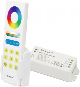 Controller banda led RGB touch, 12-24V, 15A, functie timer, Milight