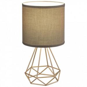 Lampa de birou Kinga, dulie E14(max 40W), bej-auriu, Rabalux