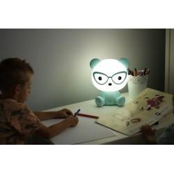 Lampa pentru copii, 2.5W, forma ursulet albastru