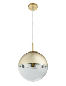 Pendul auriu mat, 1 bec, dulie E27, Globo 15856
