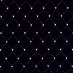 Perdea luminoasa 160 leduri, 1.5x1.5m, protectie IP44, lumina rece, Mentavill
