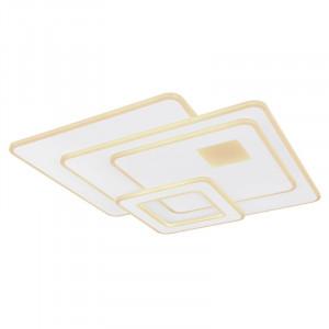 Plafoniera LED cu telecomanda, putere 75W,alba, 48288-75 Globo