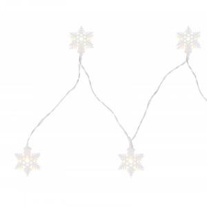 Sir luminos fulgi de zapada, 165 cm, cu baterii, Globo