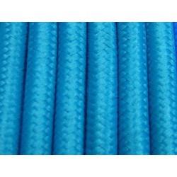 Cablu Textil Turcoaz 2x0,75