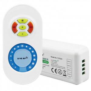 Controller Banda led touch moncolor, max 10A, 12-24V, Milight