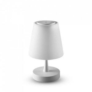 Lampa de birou led 4W, cu acumulator, dimabila, lumina calda(3000 K), alba, V-TAC