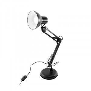 Lampa de birou neagra, dulie E27, Fucida