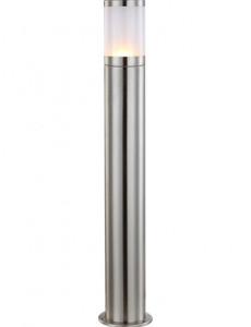 Lampa de exterior otel inoxidabil sticla, 1 bec, dulie E27, Globo 32016