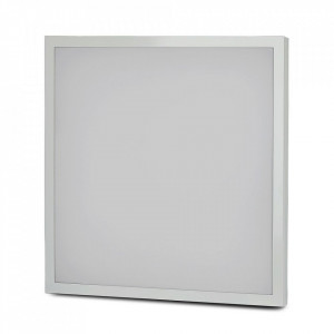 Panou led 25W Evolution, 4000 lm, montaj aplicat/incastrat, 595x595 mm, lumina naturala, V-TAC
