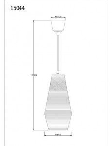 Pendul argintiu, dulie E27, Globo 15044