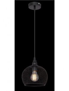 Pendul negru mat, dulie E27, Globo 15047H3