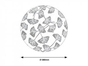 Plafoniera led 24W Benita, lumina calda(3000 K), protectie IP20, 3076 Rabalux