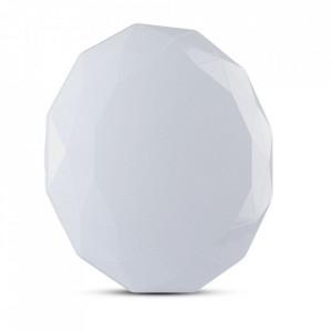 Plafoniera led 60W, forma diamant, diametru 500 mm, 4200 lm, temperatura de culoare reglabila, telecomanda, V-TAC