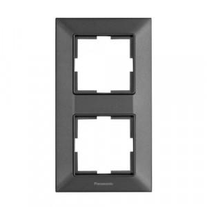Rama 2 module, verticala, IP20, Grafit, Panasonic Arkedia Slim