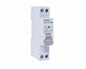 Siguranta automata cu protectie diferentiala 10A P+N, curba de declansare B, 1 modul, tip AC, 30mA, 4.5kA, Noark