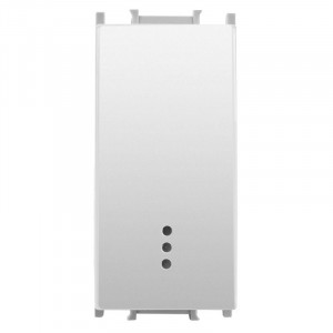 Intrerupator cu LED 1 modul Thea Modular Panasonic, Alb