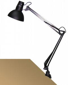 Lampa de birou cu clama Arno neagra, 4215, Rabalux