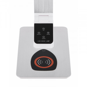 Lampa de birou LED 7W cu incarcare wireless, dimabila, temperatura de culoare ajustabila, aluminiu, 58404 Globo