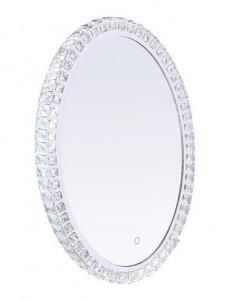 Oglinda cromata cu cristale, Globo 84030