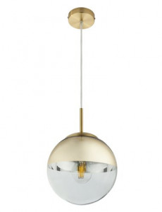 Pendul auriu mat, 1 bec, dulie E27, Globo 15855
