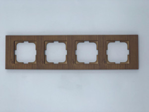Rama 4 module orizontala, Ovivo Grano, lemn masiv