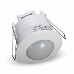 Senzor de miscare incastrat, montaj in doza, V-TAC, alb