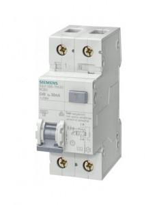 Siguranta automata cu protectie diferentiala 20A P+N, tip AC, 30mA, 4.5kA, Siemens