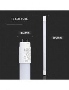 Tub neon led 9W 60cm, cip Samsung, lumina calda, nanoPC