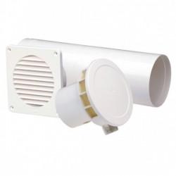 Sistem ventilatie naturala PAX RTP 100 T