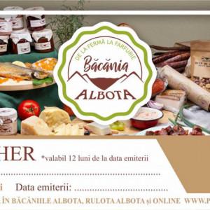 Voucher Cadou Bacania Albota