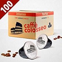 Compatibili Nespresso COLOSSEO - *OFFERTA* 300 cialde Intenso  Forte Colosseo - Spese di spedizione incluse immagini