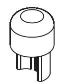 Dop superior bara intindere prelata, Sesam/Edscha, fi34, 0,20kg, baza 13x13. Suer, material alama. Cod: 670999207
