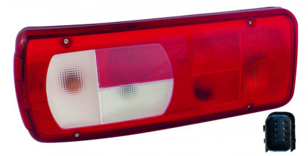 Lampa stop dreapta cu avertizor sonor marsarier DAF LF (06->)