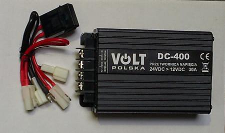 Adaptor 24V ->12V 25A