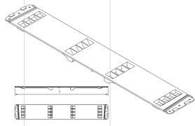 Conector prelata tip Edscha Lite Plus L-570mm. Suer.. Cod: 660034210
