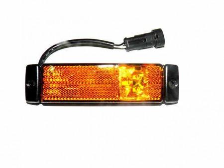 Lampa gabarit galbena, cu mufa DAF LF (06->)