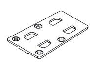 Placa montaj pentru Edscha Lite Plus. Suer. Cod: 660034120