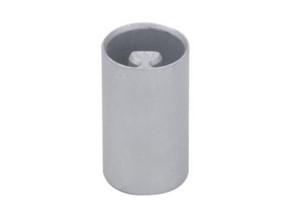 Dop inferior bara intindere prelata, rotund, fi 27, baza 13x13. Material inox. Cod: 31.10928 CS