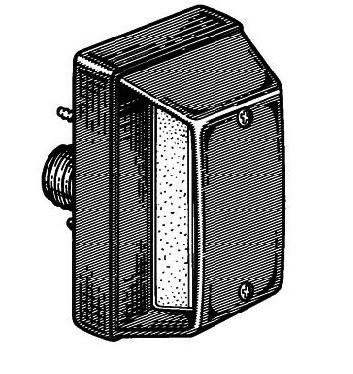 Lampa dreapta numar inmatriculare Iveco Stralis (06->)