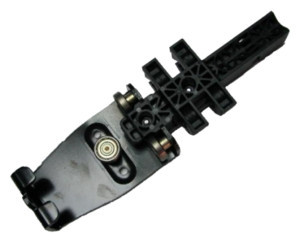 Rola bara acoperis Edscha Ultraline II HD, plastic. Cod: 4038077260