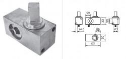 Element intinzator prelata Piccolo, 30x63, patrat 12x12mm. Suer. 0,4kg. Cod: 670900005