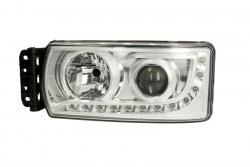 Far stanga cu lumina de zi si reglaj manual Iveco Eurocargo dupa 2012