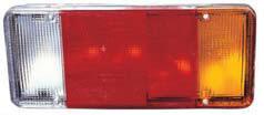 Lampa stop stanga (cu 2 conectori) Iveco Eurocargo (91-04)
