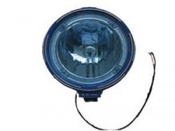 Proiector cu pozitie LED cu sticla albastra
