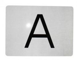 "Tabla reflectorizanta ""A"""